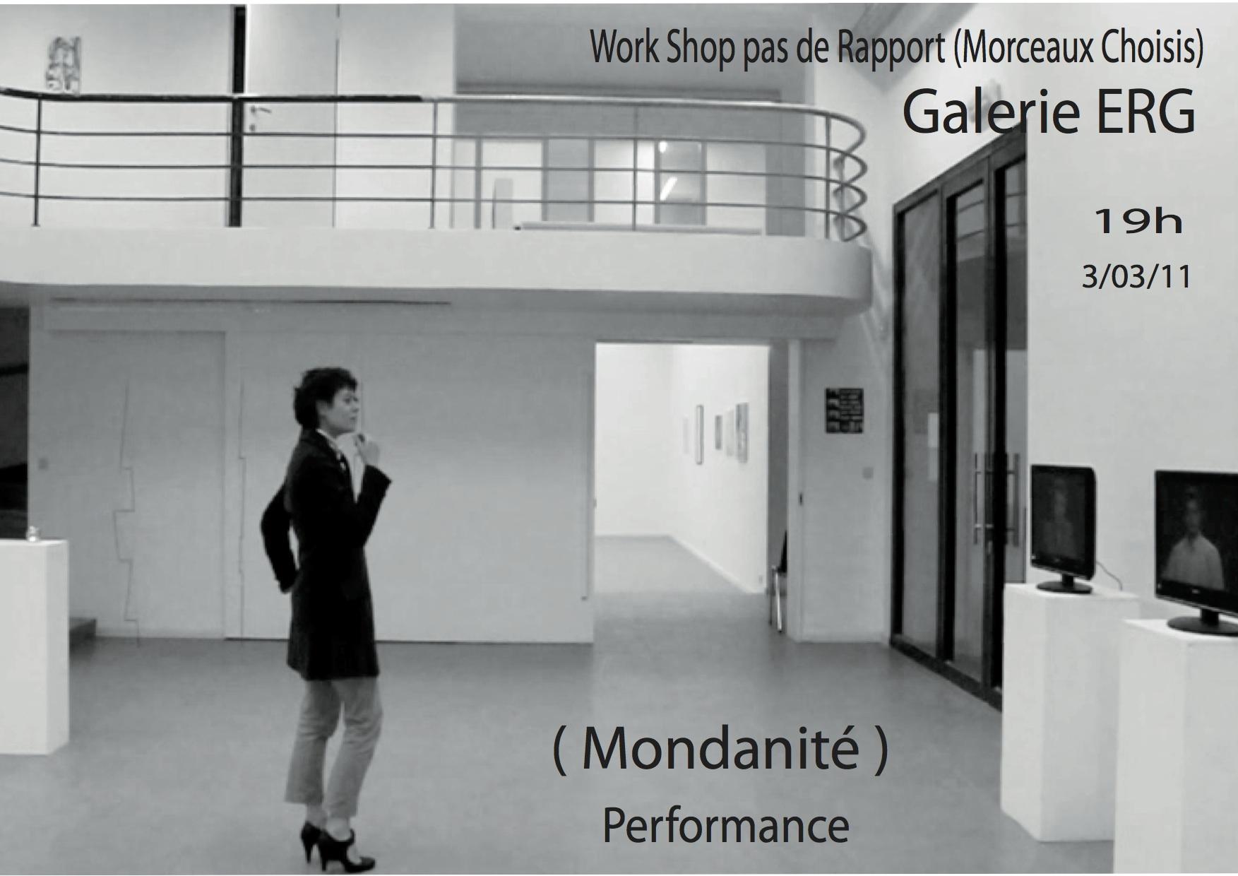 affiche work shop